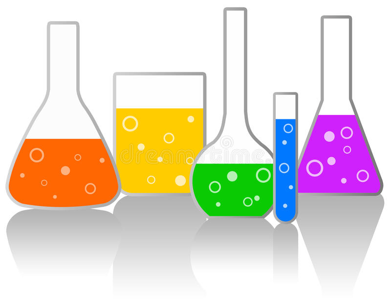 laboratorium ilustracja wektor