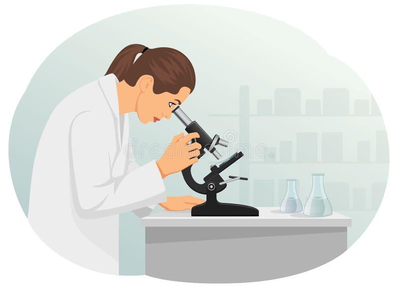 laboratorium royalty ilustracja