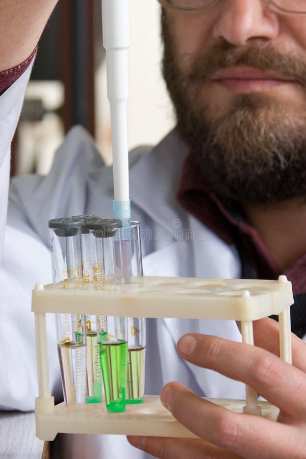 Laboratorium stock afbeelding