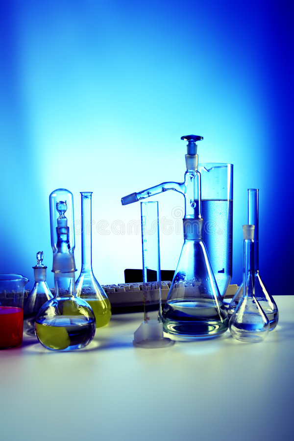 laboratorium b obraz stock