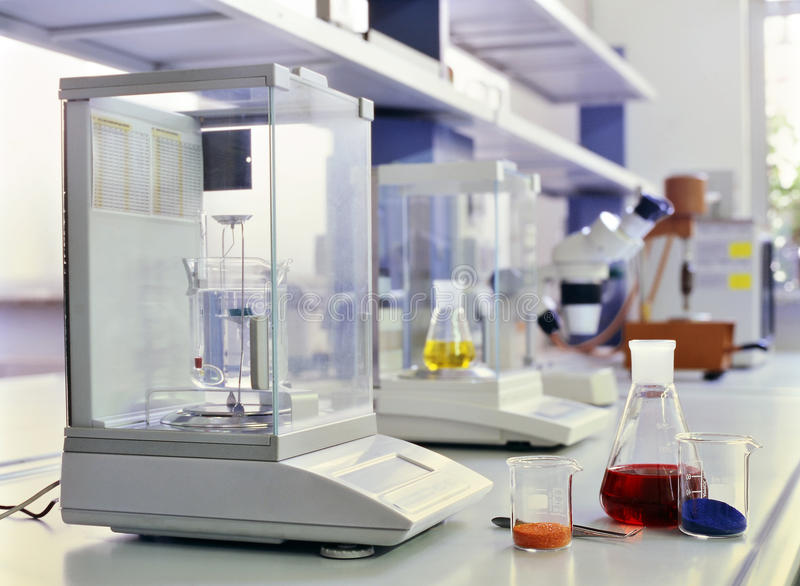 laboratorium chemicznego obraz royalty free