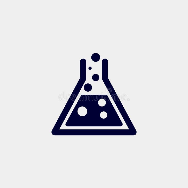 Laboratoriumpictogram vector illustratie