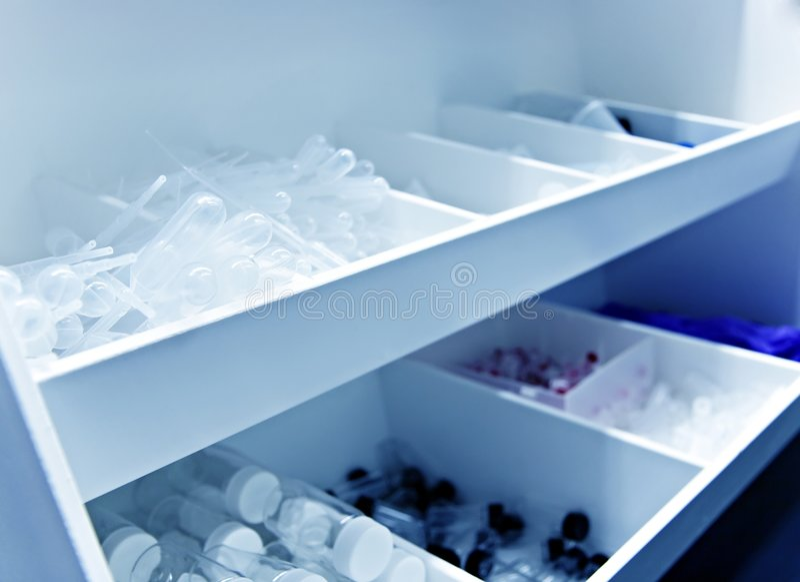 laboratoriumtillförsel arkivbild
