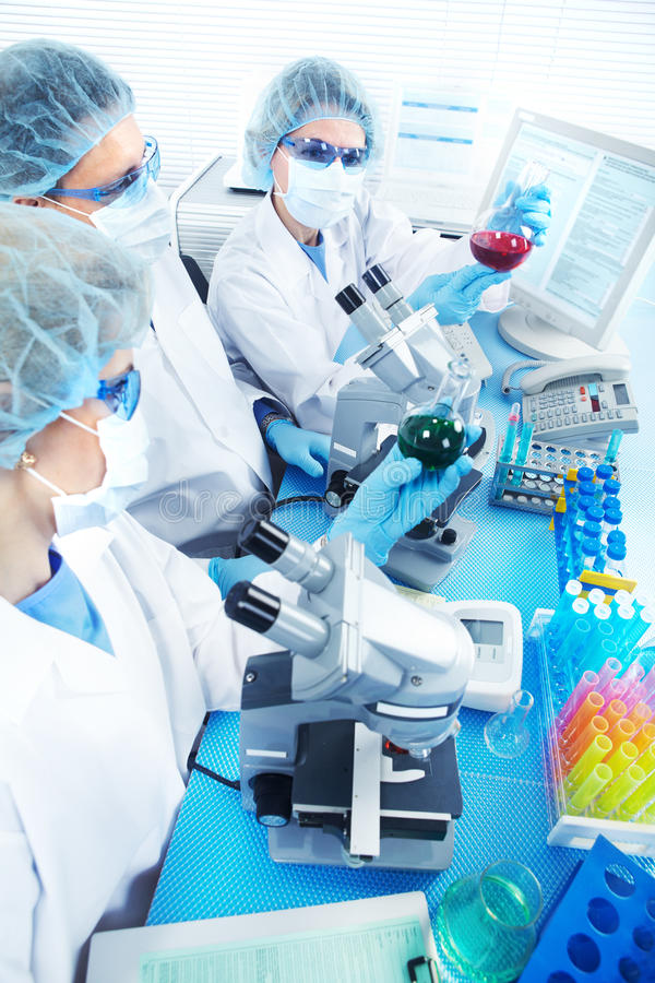 Download Laboratory stock photo. Image of health, biology, education - 18315736