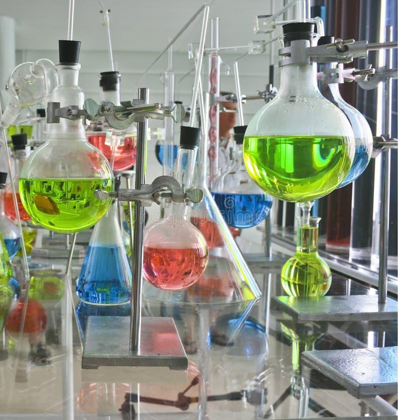 Laboratory apparatus royalty free stock image