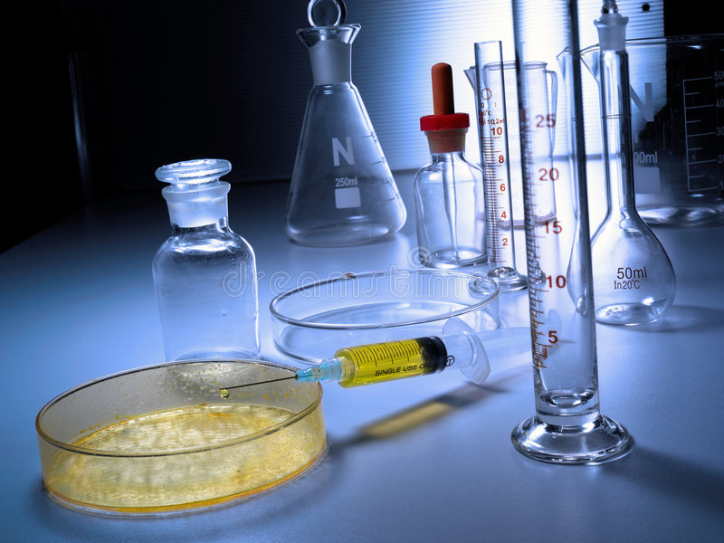Laboratory Apparatus royalty free stock images
