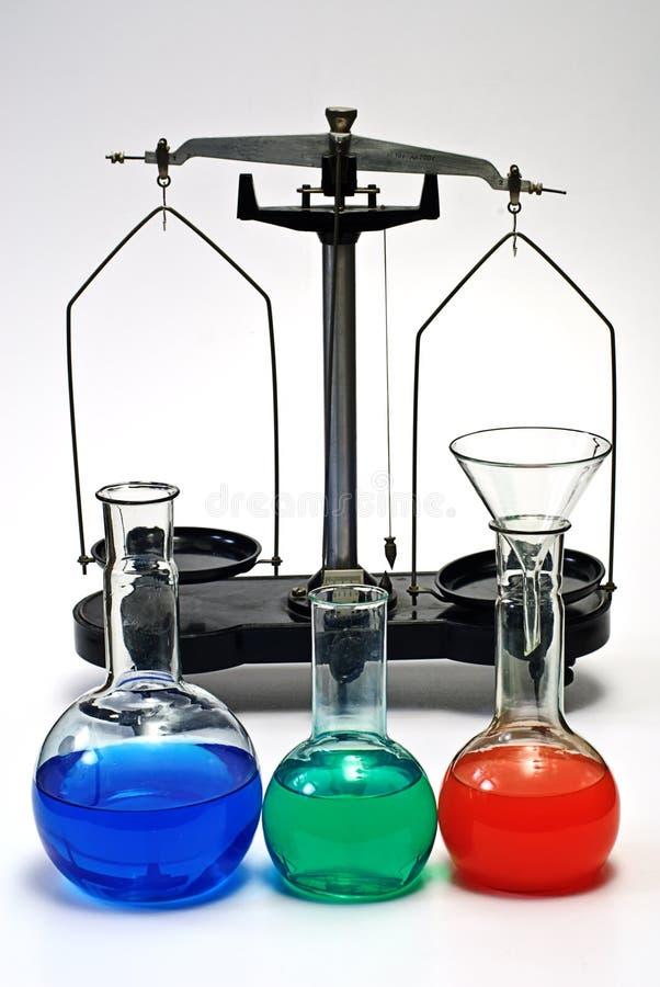 Download Laboratory Balance And Glassware Stock Photo - Image: 7779842