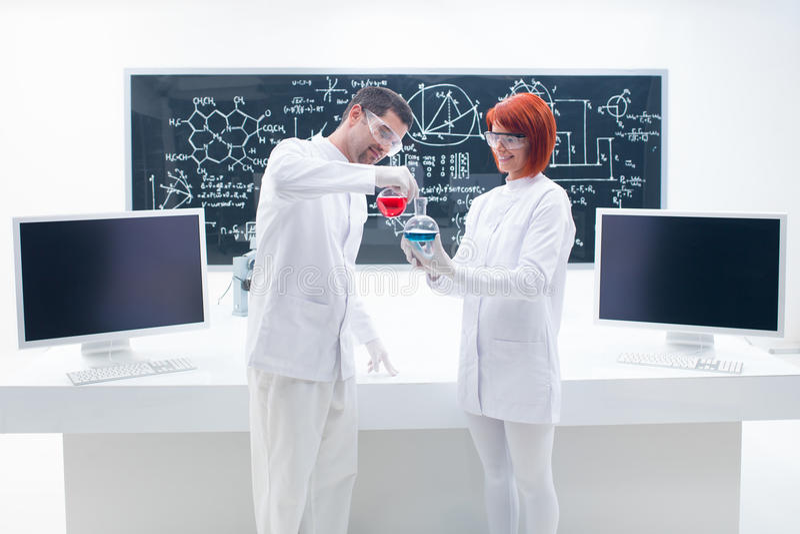 Laboratory chemical testing
