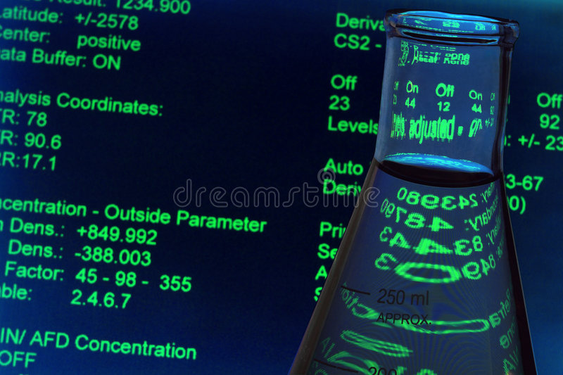 Download Laboratory Experiment In Science Research Lab Stock Image - Image of clear, display: 5942135