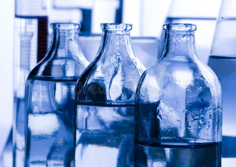 Laboratory glass royalty free stock photography
