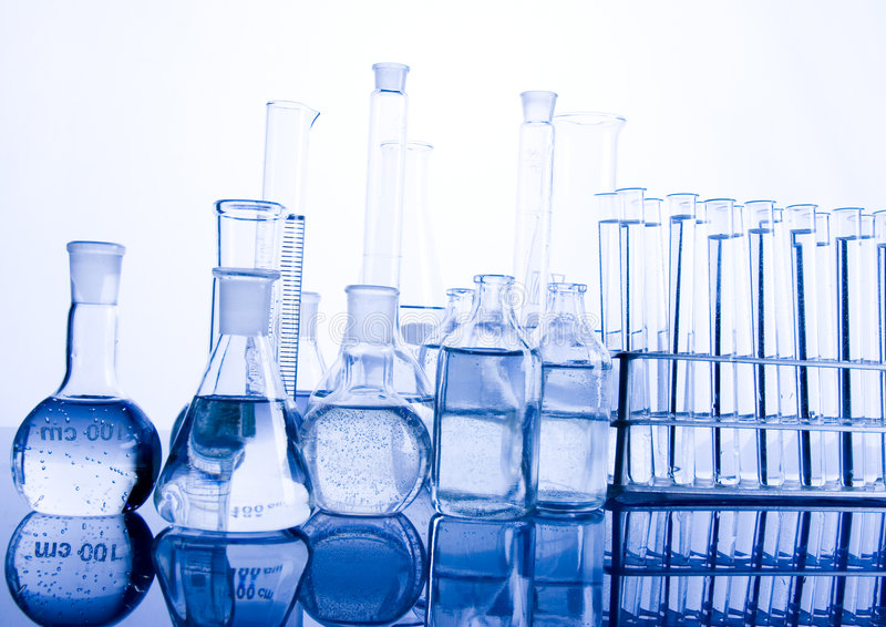 Laboratory glass. A laboratory is a place where scientific research and experiments are conducted. Laboratories designed for processing specimens, such as stock photos