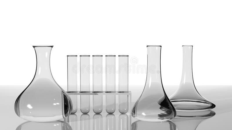 Download Laboratory glassware stock illustration. Image of liquid - 27656010
