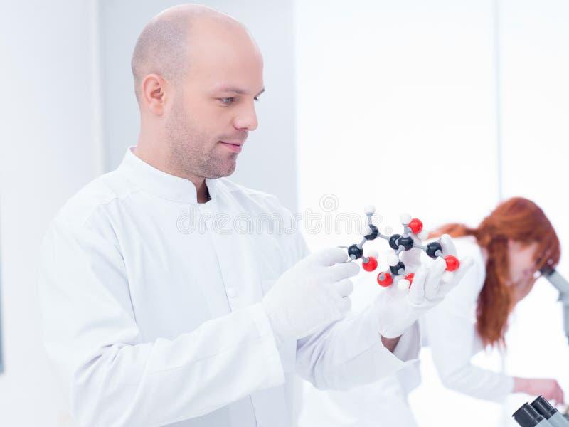 Download Laboratory Molecular Analysis Stock Photo - Image: 31258878