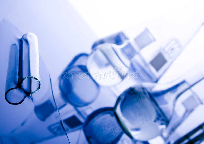 Laboratory requirements royalty free stock photography