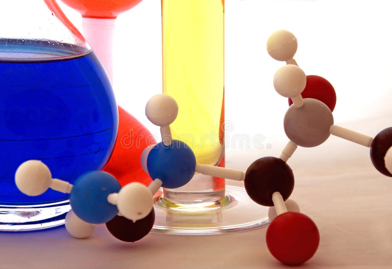 Laboratory research royalty free stock photography