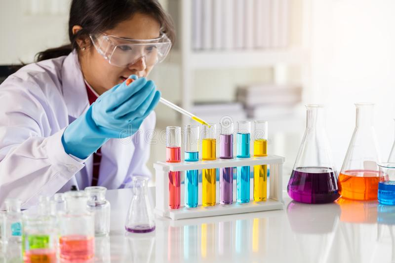 Laboratory research concept royalty free stock photos