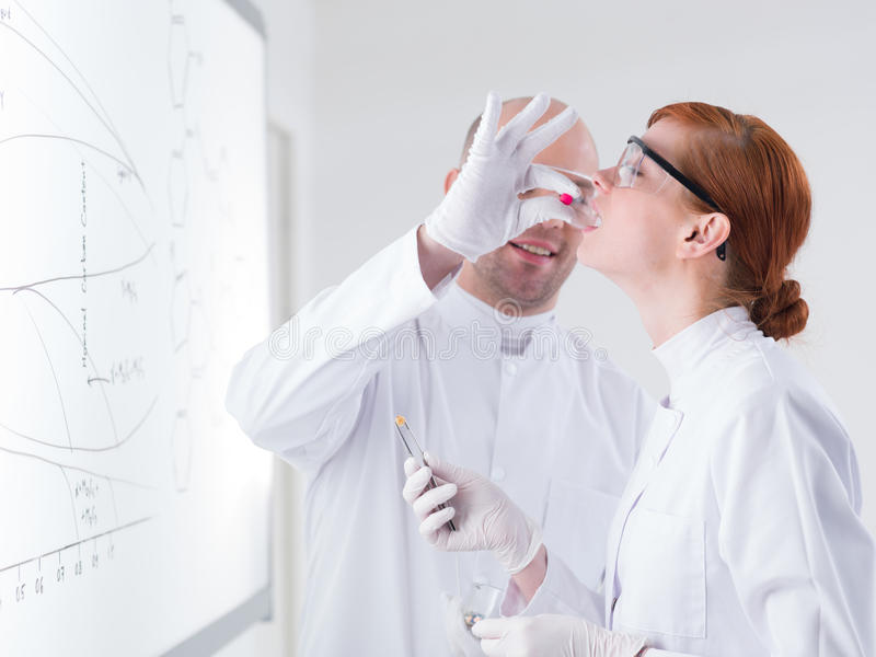 Download Laboratory test on people stock image. Image of healthy - 31258283