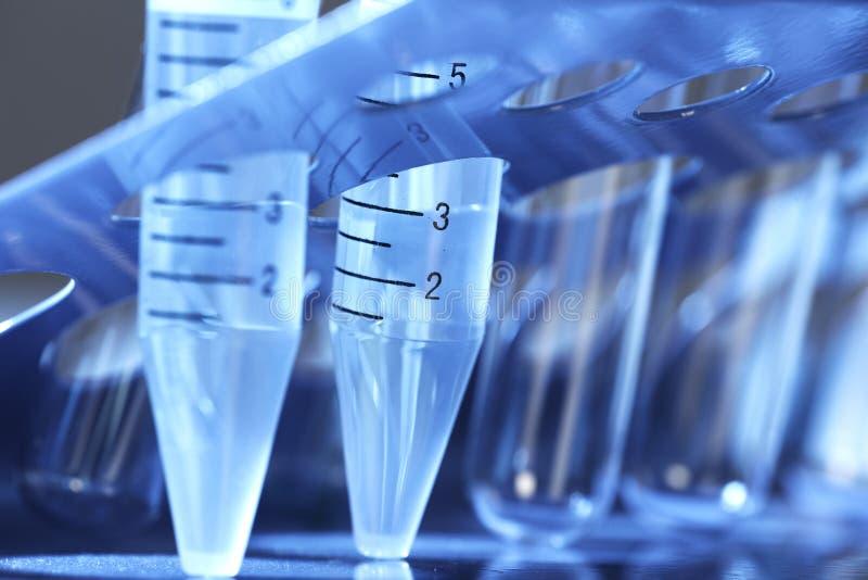 Laboratory test tube. stock image