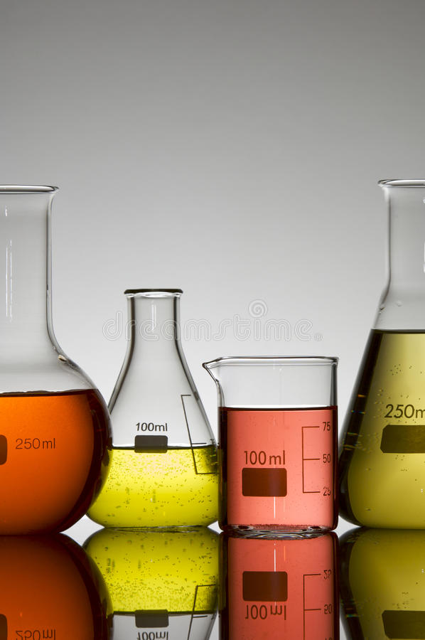 Laboratory tests royalty free stock photography