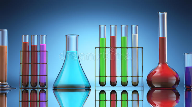 Download Laboratory Tubes Stock Image - Image: 32628531