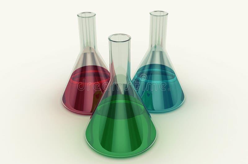 Laborflasche lizenzfreies stockbild