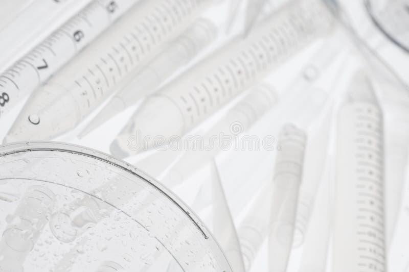 Laborglas stockfotografie