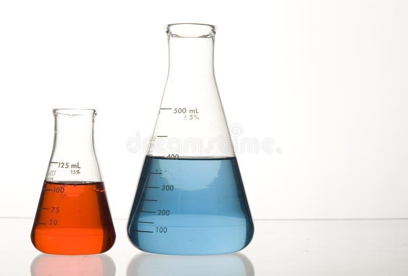 Laborglas stockfotos