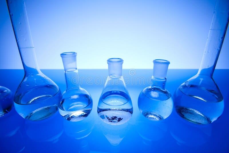 Laborglas lizenzfreie stockfotografie