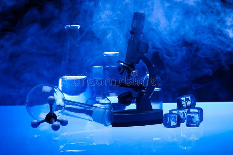 Laborglas stockbilder