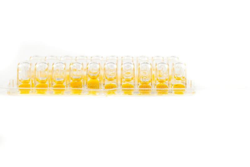 Laborurinprobe auf weißem Hintergrund Mykoplasma und Ureaplasma-urealyticum Test stockfotografie