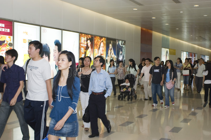 Download Labour Holidays In China, Shopping Crowd Editorial Image - Image: 9199240