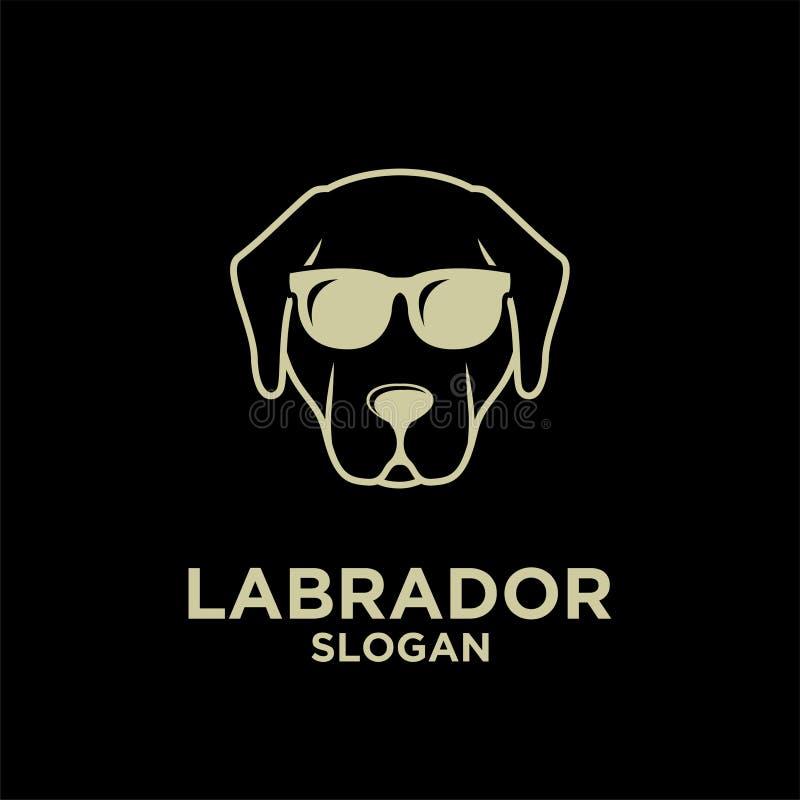 Free Labrador Retriever Dog Head Face Gold Head Logo Icon Design Stock Photo - 186921300
