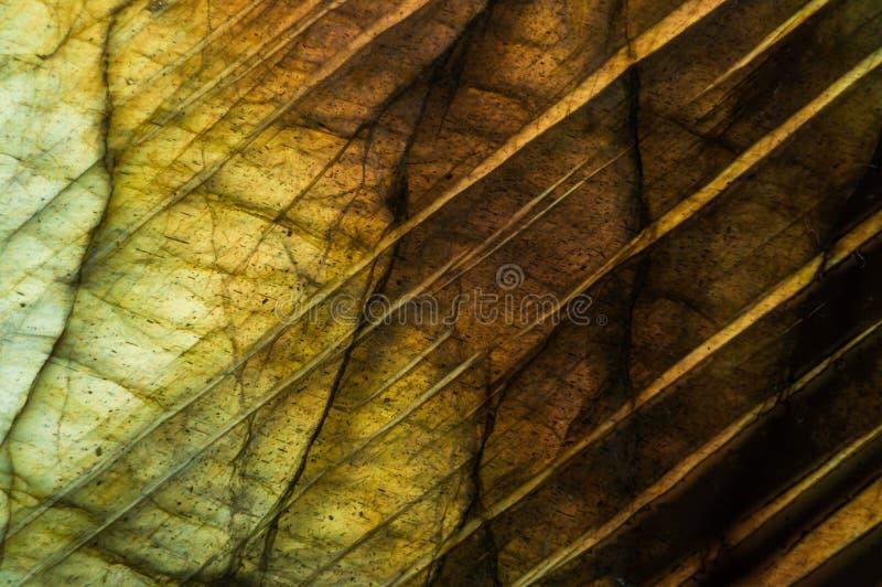 Labradorite macro do detalhe imagens de stock