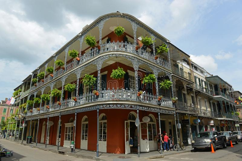 LaBranchehuis in Frans Kwart, New Orleans stock fotografie