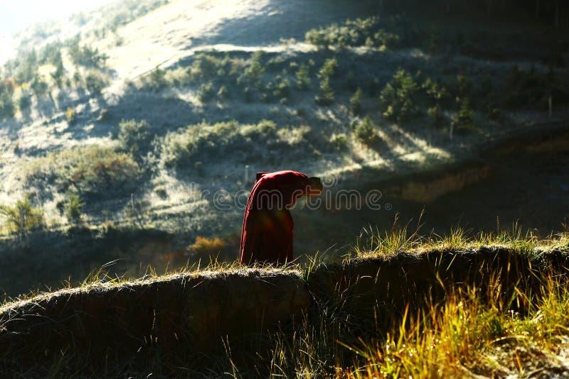 Landscape of Labrang Lamasery stock photo