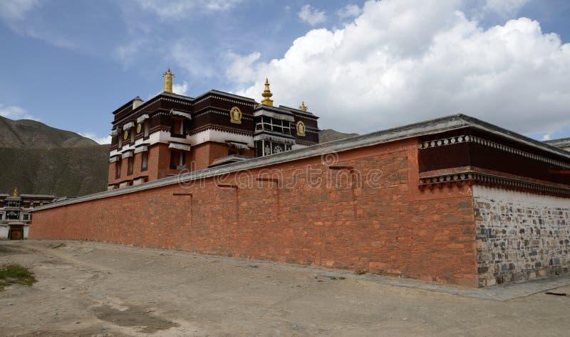 Labrang Monastery fotografia de stock
