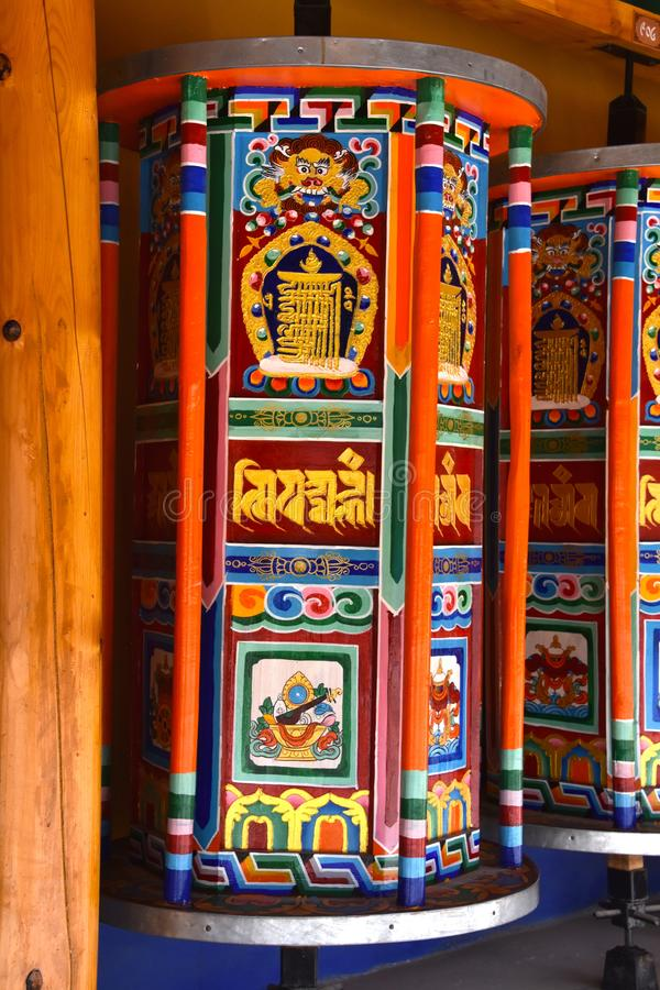 Labrang Monastery chez Xiahe, Chine images stock
