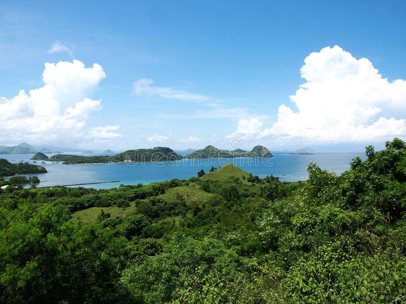 Labuan Bajo, Flores, Nusa Tenggara, Indonesia. Labuan Bajo is a fishing town located at the western end of Flores in the Nusa Tenggara region of east Indonesia stock photography