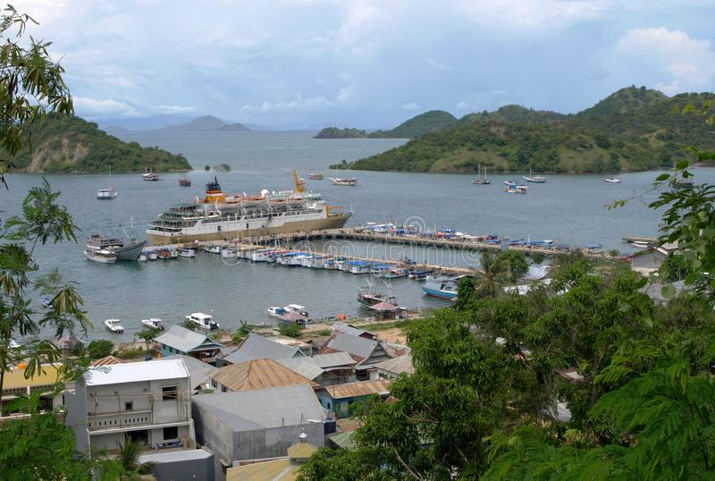 Labuan Bajo, Flores, Nusa Tenggara, Indonesia fotografie stock libere da diritti