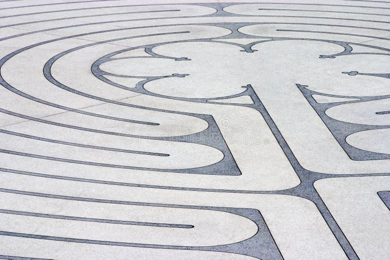 Labyrint 2 stock foto