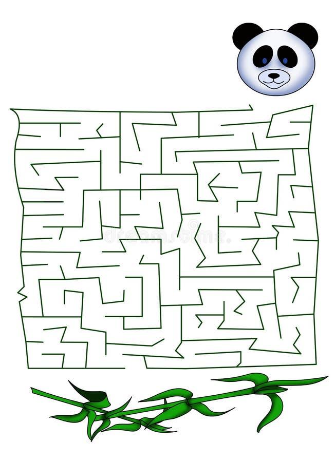 Labyrint 34 vector illustratie