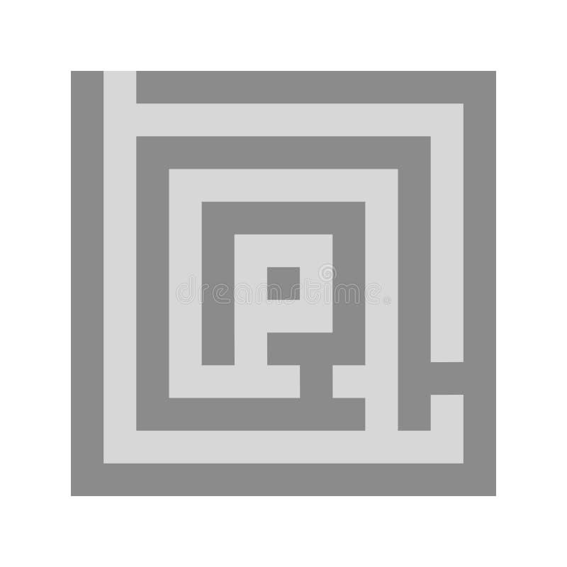 labyrint royalty-vrije illustratie