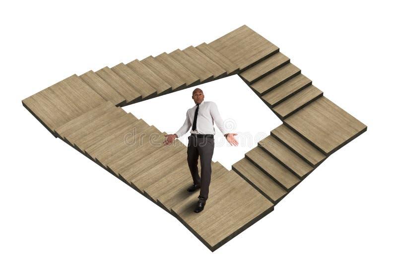 Labyrint med ingen utgång arkivbilder