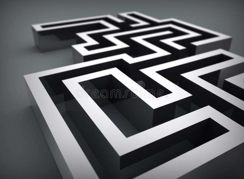 Labyrinth vector illustration