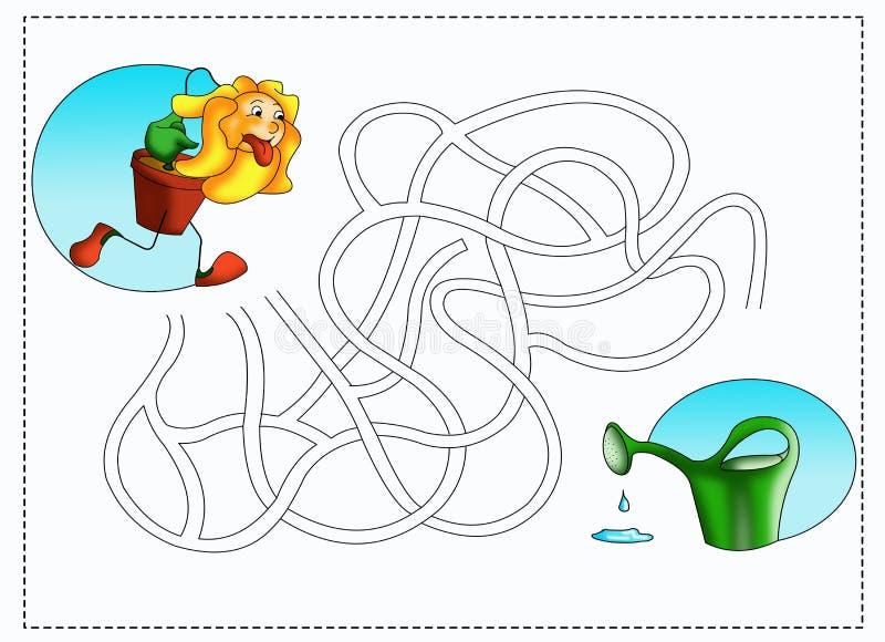 Download Labyrinth 4 stock illustration. Image of illustration - 16721522