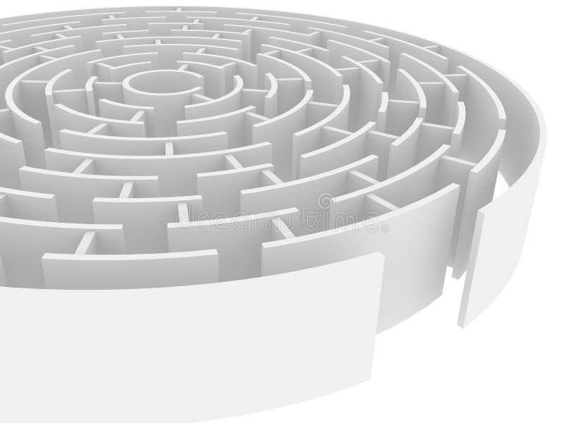 Labyrinth lizenzfreie abbildung