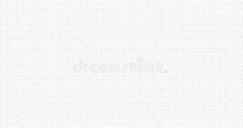 Labyrinth Background. Maze Game Concept. Logistics Abstract Background Concept. Business Path Concept. Vector Illustration royalty free illustration