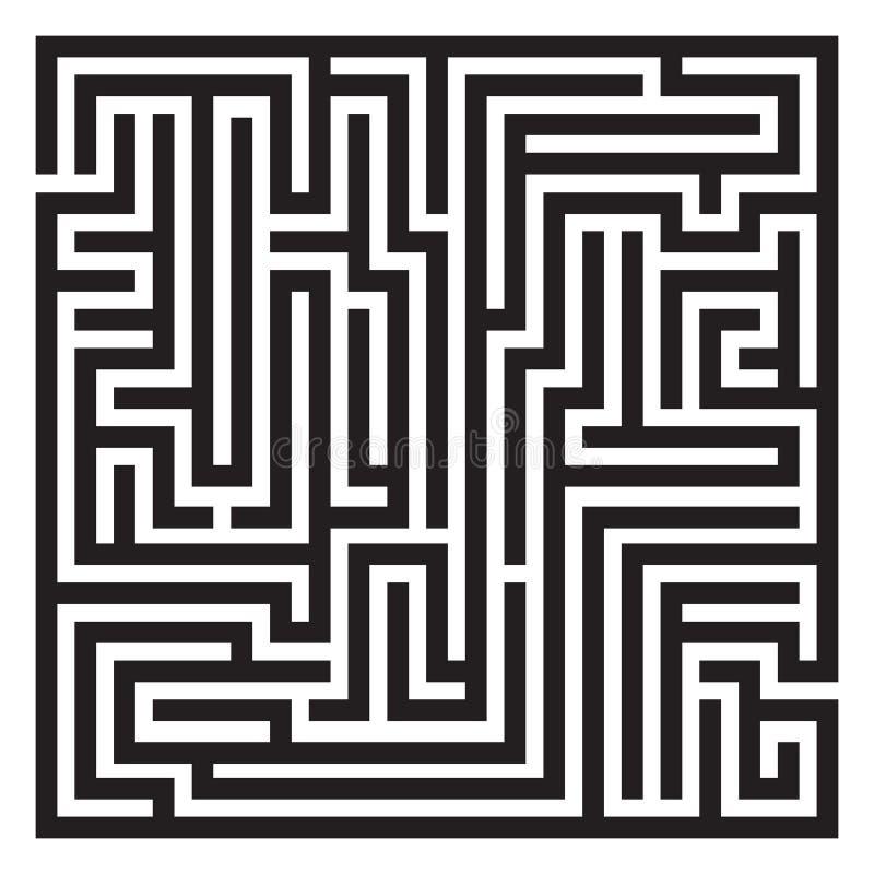 labyrinth labyrinth stock abbildung