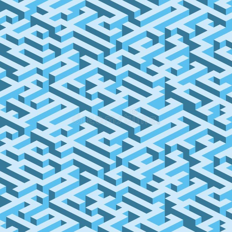 Download Labyrinth (seamless Vector Wallpaper) Stock Vector - Illustration: 4913244