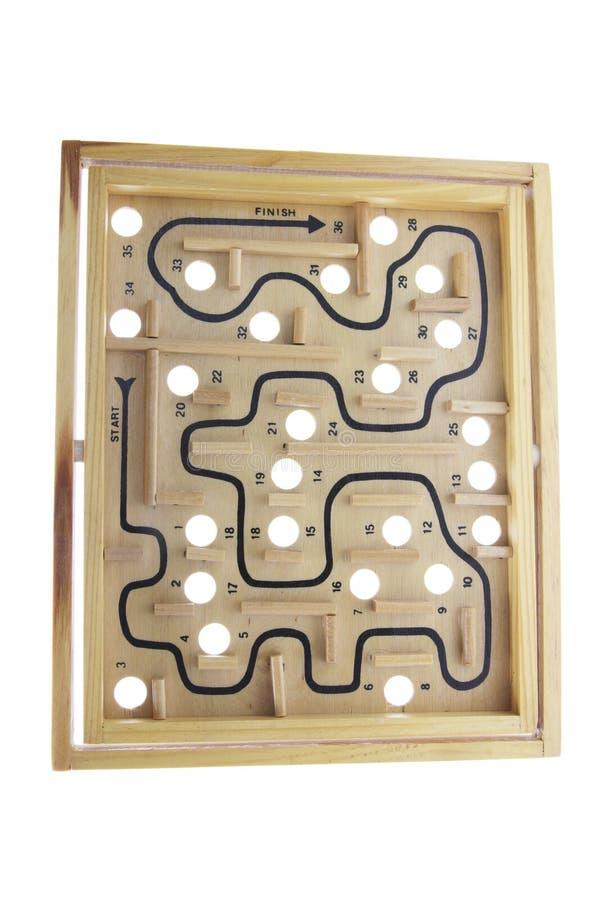 Labyrinth-Spiel stockbilder